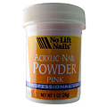 NO LIFT NAILS Acrylic Nail Powder Pink 1oz