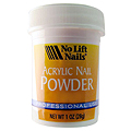 NO LIFT NAILS Acrylic Nail Powder White 1oz