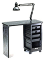 KAYLINE the Affordable Spartan Nail Table  119