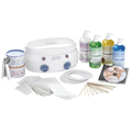 SATIN SMOOTH Deluxe Series Professional Double Warmer Kit SSW08CKIT