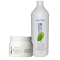 MATRIX Biolage Hydrotherapie Hydrating Shampoo 33.8 oz and Conditioning Balm 16.9 oz Set