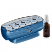 BABYLISS PRO 12 Roller Nano Titanium Hairsetter BABNTCHV15 with Argan Oil Hair Serum 2 oz by NADYA