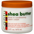 CANTU Shea Butter Leave In Conditioning Repair Cream 16 oz (Pack of 2)