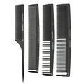 CRICKET Professional Carbon 4C 4-Pack Comb Set