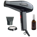 ELCHIM Classic 2001 Hair Dryer Black with NADYA Argan Oil Hair Treatment Leave in Serum  2 oz