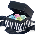 EOS Smooth Sphere Lip Balm Black Gift Box 4-Pack