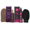 FAKE BAKE Flawless Self Tan Liquid & 60 Min. Self Tan Liquid Set with GETI BEAUTY Exfoliating Scrub Mitt Black