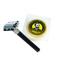 FEATHER Double-Edge Razor Made in Japan w /  Almond Glycerin Shaving Soap