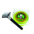 FEATHER Double-Edge Razor Made in Japan with Lime Glycerin Shaving Soap