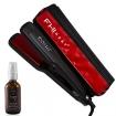 FHI Heat Platform Professional 1-3 / 4 inch Flat Iron 7003 with Argan Oil Hair Anti Frizz Serum 2 oz