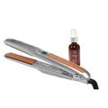 HAI Elite Nano XT 1 Inch Digital Ceramic Styling Iron w / NADYA Argan Oil Hair Treatment Leave in Serum 2 oz