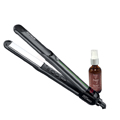IZUTECH 1 Inch ITC450 Digital Titanium Flat Iron w /  NADYA Argan Oil Hair Treatment Leave in Serum 2 oz