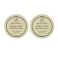 TAYLOR OF OLD BOND STREET Lemon & Lime Shave Cream Bowl 150g (Pack of 2)