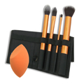 REAL TECHNIQUES Core Collection Brush Set w / Miracle Complexion Sponge
