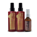 UNIQ ONE All in One Hair Treatment Duo Pack w/ NADYA Argan Oil Hair Serum