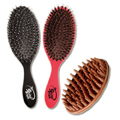 THE WET BRUSH The Boar Bristles Shine Brushes w/ Scalp Brush