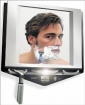 ZADRO Lighted Fogless Shower Shaving Mirror w / WAHL Wet / Dry Trimmer